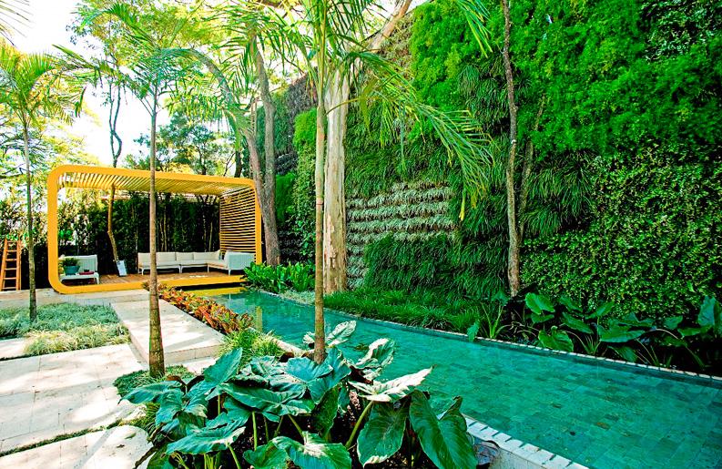 Paisajes jardines revista deck for Jardines modernos fotos
