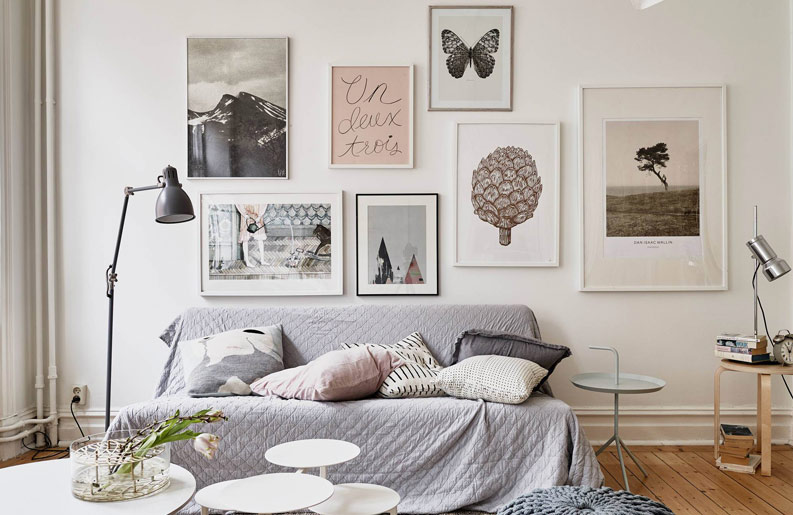 Monoambientes con estilo revista deck - Ideas para decorar salones pequenos ...