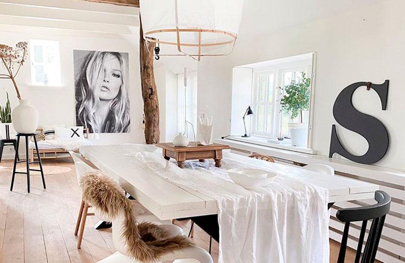 <b>Un sueño.</b> Shirley Bonenberg abre las puertas de su hogar instagrameable