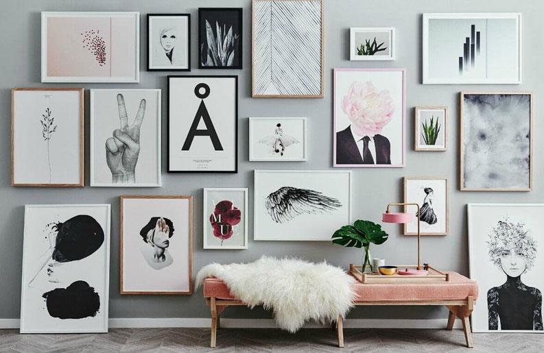 Consejos Para Decorar Con Cuadros Revista Deck - Decorar-un-cuadro