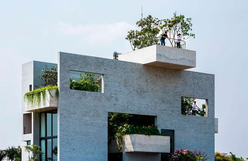 <b>Espíritu sustentable.</b> Cinco diseños exclusivos rodeados de naturaleza